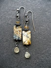 MELTED-available on etsy here                   Earrings are a big part of my everyday life, so I just keep making them, and really never ti...