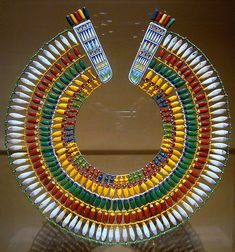Egyptian Jewelry Colors | lands, Egyptians had access to many different materials for jewelry ...
