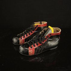 Shoes, Made from vintage ice skate. Size 40