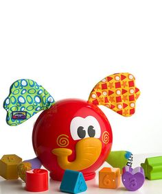 Another great find on #zulily! Elephant Shape Sorter by Playgro #zulilyfinds