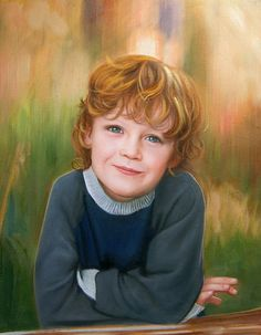 oil portrait of a red-hair boy...... #childrenportraits #paint #painting #paintyourlife