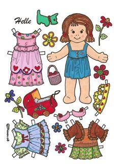 Baby paper dolls 124