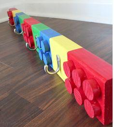 Children Gift Ideas - Lego Coat Hanger