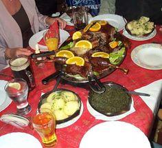 Christmas Dinner Around The Globe