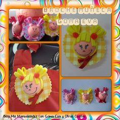 Broche carita de goma eva  http://manualidadescongomaeva.blogspot.com.es/2013/08/broche-carita-de-goma-eva.html