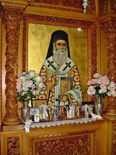 Orthodox Icons, Jesus Christ, Greece, Faith, Graphic Design, Flowers, Painting, Greece Country, Painting Art