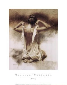 """""""Teddy"""" - William Whitaker, pastel {figurative female human body woman posterior back drawing} Rr Pastel Drawing, Painting & Drawing, Drawing Drawing, Woman Painting, Art Sketches, Art Drawings, Pencil Drawings, Figure Drawings, Pencil Art"""