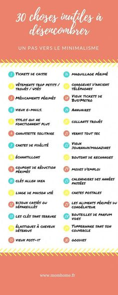 30 choses inutiles à désencombrer - Minimalisme Cleaning Quotes, Cleaning Hacks, Grand Menage, Tip Top, House Cleaning Services, Flylady, Making Life Easier, Konmari, Decluttering