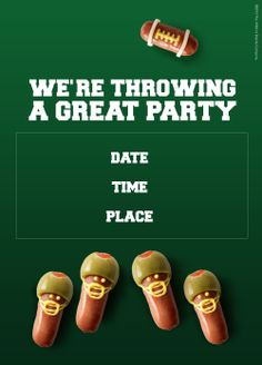 We're throwing a great party and you're invited! Click here to customize your own invite!