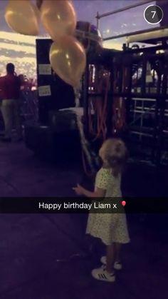 liam payne birthday baby lux