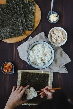 Chamchi kimbap by Two Red Bowls