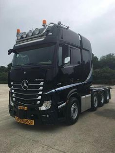 Mercedes Actros 630 pk zwaar transport