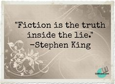 Discover and share Stephen King Quotes On Life. Explore our collection of motivational and famous quotes by authors you know and love. Writer Quotes, Life Quotes, Stephen King Quotes, Quote Citation, Fiction, Wisdom, Break Room, Content, Writing