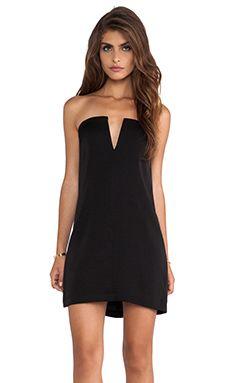 BCBGMAXAZRIA Nahara Dress in Black | REVOLVE