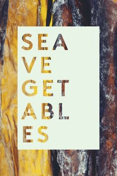 Superfood: Sea Vegetables Photo by Ingalls Photo