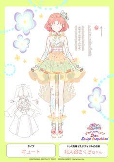 Anime Angel Girl, Anime Girl Dress, Anime Art Girl, Anime Girlxgirl, Drawing Anime Clothes, Kpop Drawings, Funny Anime Pics, Fashion Design Sketches, Design Competitions