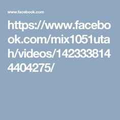 https://www.facebook.com/mix1051utah/videos/1423338144404275/