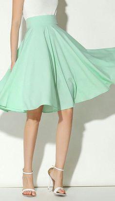 Sea Foam Skirt