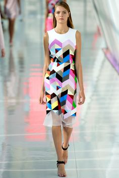 London Fashion Week, Colour blocks and juxtaposition