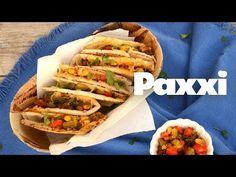 Αραβική πίτα με λαχανικά - Paxxi 1min C121 - YouTube