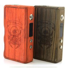 Authentic Tesla 120W Wood Box Mod Ecig Variable Voltage Wattage Mech Mod 120 Watts Sub Ohm Vapor Mods 0.2-3.5ohm Resistance from Puccitech,$57.6 | DHgate.com