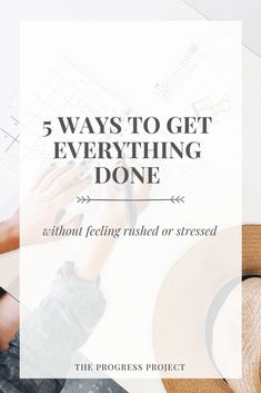 101 How to Stop Feeling Rushed — The Progress Project Stress Management Activities, Time Management Tips, Mindfulness Practice, Guided Meditation, Tired Of Trying, Habits Of Successful People, How To Stop Procrastinating, Write It Down, Make Time