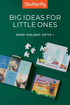 Looking for a great gift? Find creative favorites at Shutterfly, like personalized story books and puzzles where you can add their pictures.