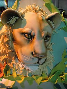 Jazzoo Lion Cake by Karen Portaleo/ Highland Bakery, via Flickr