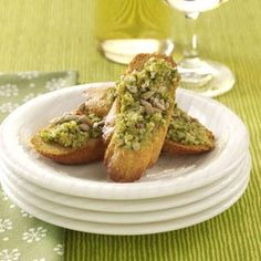 Sunny Asparagus Tapenade Recipe from Taste of Home -- shared by Kathy Patalsky of New York, New York