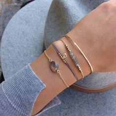 uhu: bracelet beads  @www.makarojewelry.at