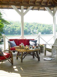 Porch and patio ideas.
