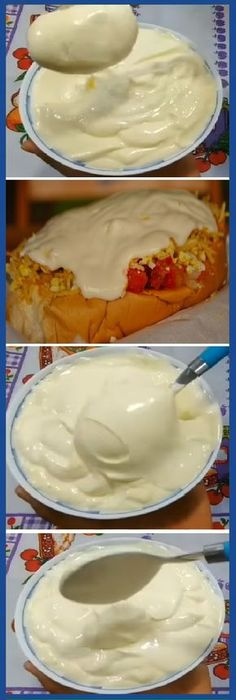 Pin on mayonesa Good Food, Yummy Food, Chutney, Mexican Food Recipes, Ethnic Recipes, Sauces, Dips, Cooking Recipes, Healthy Recipes