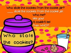 Who Stole The Cookie From The Cookie Jar Book Who Stole The Cookie From The Cookie Jar Subtraction Class Book