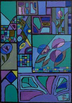 Night Garden Abstract (Painting No. Night Painting, Abstract Art Painting, Original Paintings, Abstract Painting, Traditional Paintings, Colorful Abstract Art, Abstract, Original Art, Saatchi Art