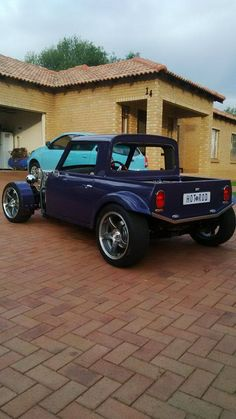 Mini Cooper hot rod pickup