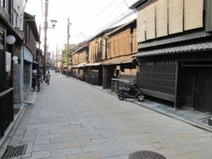 Machiya in the Gion district of Kyoto