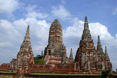 Ayutthaya, the ancient former capital of Siam.
