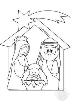 Preschool Christmas Crafts, Kids Christmas Ornaments, Christmas Crafts For Kids To Make, Nativity Crafts, Christmas Gift Decorations, Christmas Nativity, Christmas Activities, Xmas Crafts, Christmas Colors