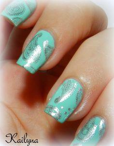 Nail Art Cachemire