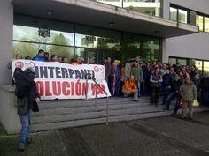 Los trabajadores de Interpanel en Lugo