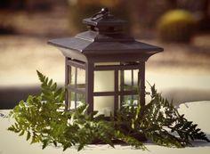 Simple and beautiful  #lantern #centerpiece