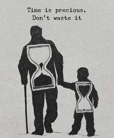 Positive Quotes : Time is precious dont waste it. # Parenting drawing Positive Quotes : Time is precious dont waste it. - Hall Of Quotes Reality Quotes, Success Quotes, Wisdom Quotes, Quotes To Live By, Quotes Quotes, Tattoo Quotes, Happy Quotes, Family Quotes And Sayings, Timing Quotes