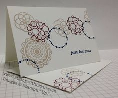 Circle Circus, Just Believe, note cards, Stampin' Up!, stampwithbrian.com