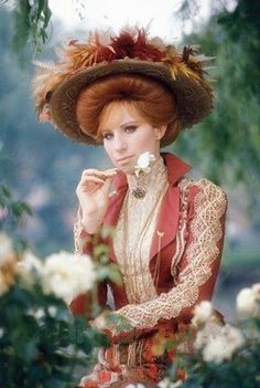 Hello Dolly — with Barbra Streisand. Broadway Costumes, Movie Costumes, Jeff Bridges Movies, Gibson Girl, Barbra Streisand, A Star Is Born, Hello Dolly, Hello Gorgeous, Celebs