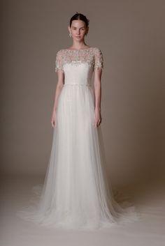 Ethereal Wedding Looks: Marchesa Spring 2016 Bridal Marchesa Wedding Dress, Marchesa Bridal, Marchesa Spring, Marchesa 2016, Mod Wedding, Wedding Looks, Tulle Wedding, Wedding Pics, Dress Wedding