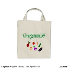 """Organic"" Veggies Tote"