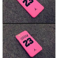 PINK Jordan 23 iphone 6 & 6PLUS ***IF YOU LIKE PLEASE PLEASE SHARE* **  **THE WHITE CASE IS JUST SHOWING HOW THE FRONT WILL LOOK?? REASON BEGIN IS ALL PRODUCTS ARE BRAND NEW NOT OPEN **  **Pink Color Jordan23  Case for iPhone 6plus/6/ Hard TPU Back Cover Cases Jordan Accessories Phone Cases