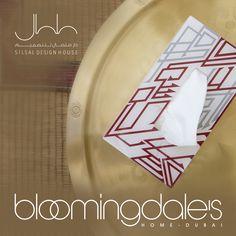 Silsal to the fashion rescue! Hide those cardboxes with our elegant tissue box available at Bloomingdale's - Home Dubai!   صلصال سيحل مشكلة الموضة ويبدل علب محارم الكرتون بعلب أنيقة وعصرية متوفرة الآن في بلومينغديلز هوم - دبي.  @TheDubaiMall @bloomingdalesdubai #bloomingdaleshomedxb #SilsalDesignHouse #Silsal