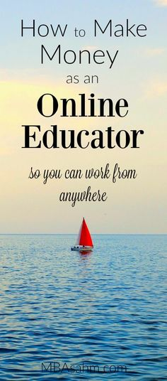 There are so many ways to make money as an online educator nowadays! And if you do it right, they pay way more than anything in a classroom. Education 10 Ways to Make Money as an Online Educator - MBA sahm Earn Money Online, Make Money Blogging, Online Jobs, Money Tips, Money Saving Tips, Money Hacks, Online Teaching Jobs, Tips Online, Work From Home Jobs