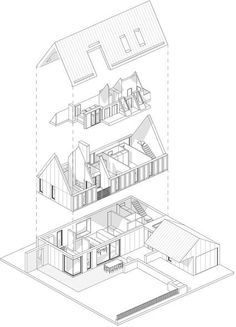 Exploded Axonometric Diagram by Whyming.deviantart.com